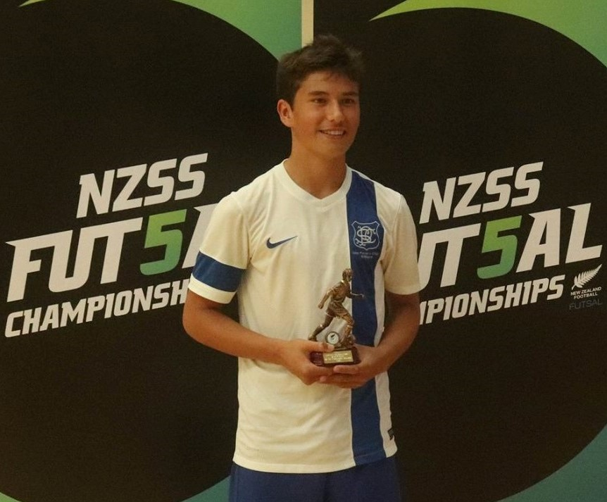 #sport:  Old Boy NZ Secondary School futsal champ